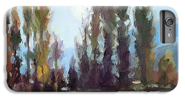 Impressionism iPhone 6s Plus Case - September Moon by Steve Henderson