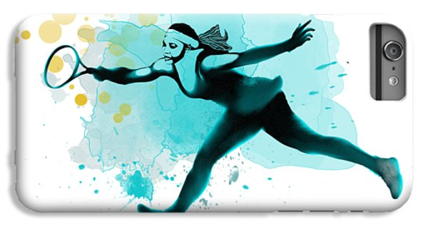 Serena Williams iPhone 6s Plus Case - Serena by Marlene Watson