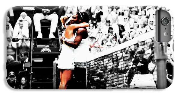 Serena Williams And Angelique Kerber 1a IPhone 6s Plus Case