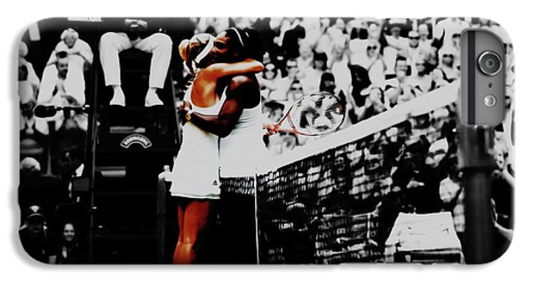 Serena Williams And Angelique Kerber IPhone 6s Plus Case by Brian Reaves