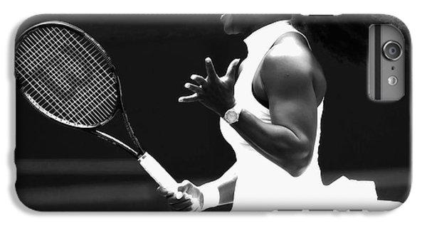 Venus Williams iPhone 6s Plus Case - Serena Williams Making Magic Happen by Brian Reaves