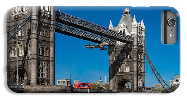 IPhone 6s Plus Case featuring the photograph Seven Seconds - The Tower Bridge Hawker Hunter Incident  by Gary Eason