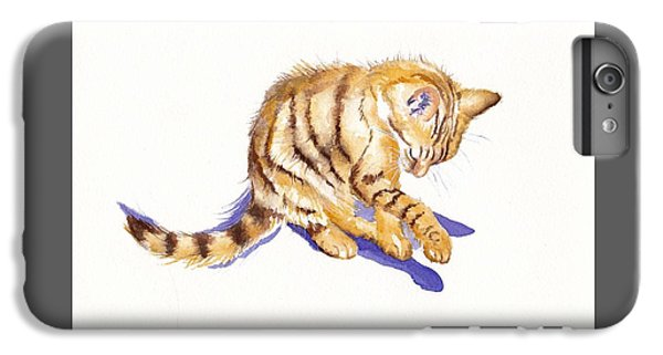 Cat iPhone 6s Plus Case - Shadow Boxing by Debra Hall