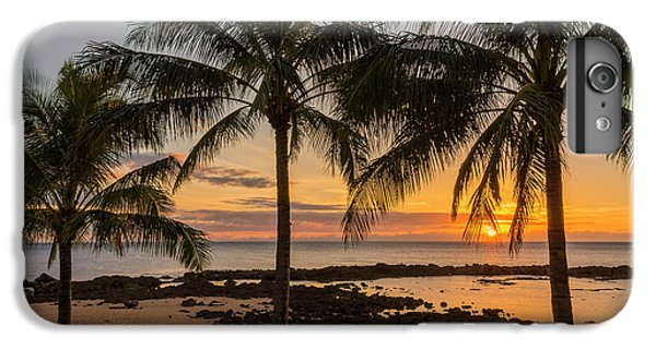 Nurse Shark iPhone 6s Plus Case - Sharks Cove Sunset 4 - Oahu Hawaii by Brian Harig