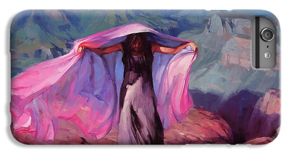 Grand Canyon iPhone 6s Plus Case - She Danced By The Light Of The Moon by Steve Henderson