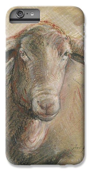Sheep Head IPhone 6s Plus Case by Juan Bosco
