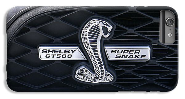 Garden Snake iPhone 6s Plus Case - Shelby Gt 500 Super Snake by Mike McGlothlen