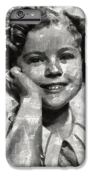 Shirley Temple By Mary Bassett IPhone 6s Plus Case by Mary Bassett