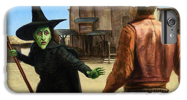 Wizard iPhone 6s Plus Case - Showdown by James W Johnson