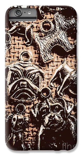 Pendant iPhone 6s Plus Case - Silver Dog Show by Jorgo Photography - Wall Art Gallery