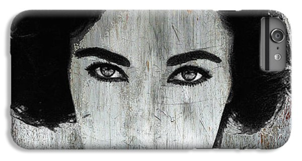 Liz Taylor iPhone 6s Plus Case - Silver Screen Liz Taylor by Tony Rubino