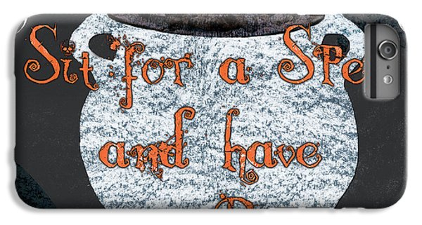 Spider iPhone 6s Plus Case - Sit For A Spell by Debbie DeWitt