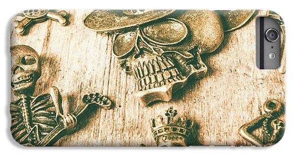 Pendant iPhone 6s Plus Case - Skulls And Pieces by Jorgo Photography - Wall Art Gallery
