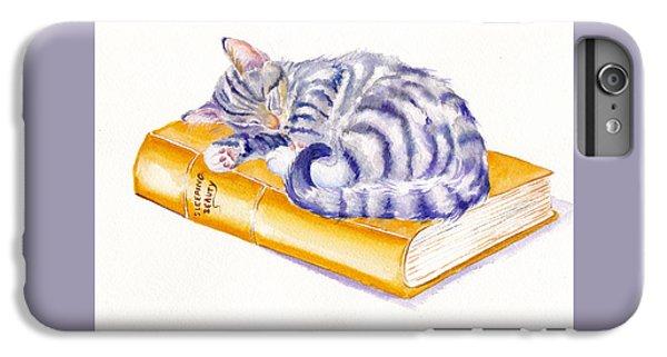Cat iPhone 6s Plus Case - Sleeping Beauty by Debra Hall