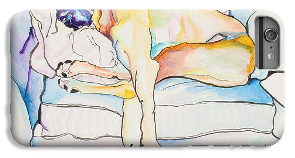 Prairie Dog iPhone 6s Plus Case - Sleeping Beauty by Pat Saunders-White