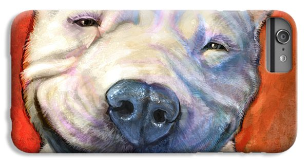 Dog iPhone 6s Plus Case - Smile by Sean ODaniels