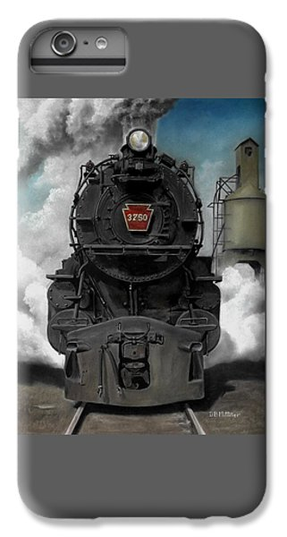 Train iPhone 6s Plus Case - Smoke And Steam by David Mittner