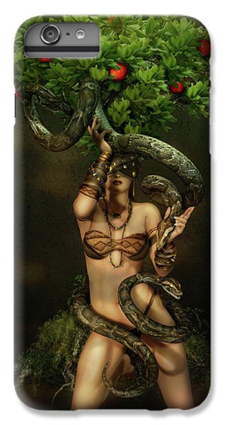 Snake Charmer IPhone 6s Plus Case by Shanina Conway