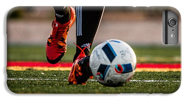 Soccer iPhone 6s Plus Case - Soccer by Hyuntae Kim