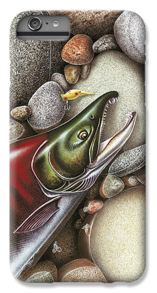 Salmon iPhone 6s Plus Case - Sockeye Salmon by JQ Licensing