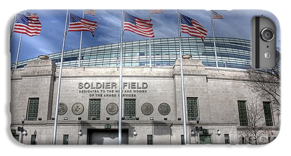 Soldier Field iPhone 6s Plus Case - Soldier Field by David Bearden