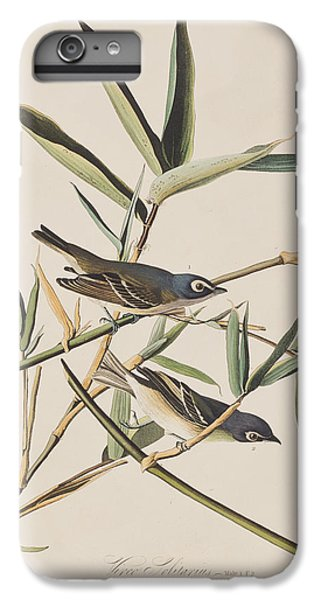Flycatcher iPhone 6s Plus Case - Solitary Flycatcher Or Vireo by John James Audubon