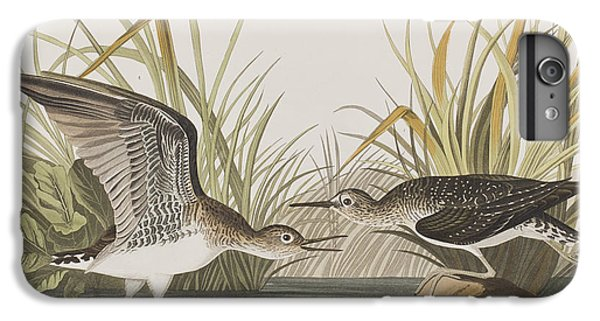 Sandpiper iPhone 6s Plus Case - Solitary Sandpiper by John James Audubon