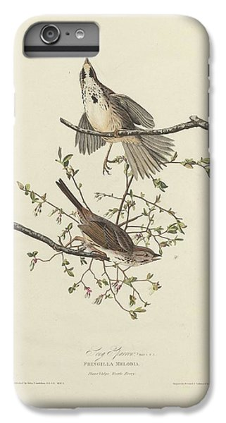 Song Sparrow IPhone 6s Plus Case by Dreyer Wildlife Print Collections