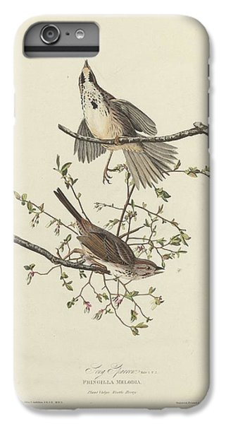 Song Sparrow IPhone 6s Plus Case by Rob Dreyer