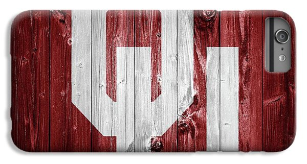 Oklahoma University iPhone 6s Plus Case - Sooners Barn Door by Dan Sproul