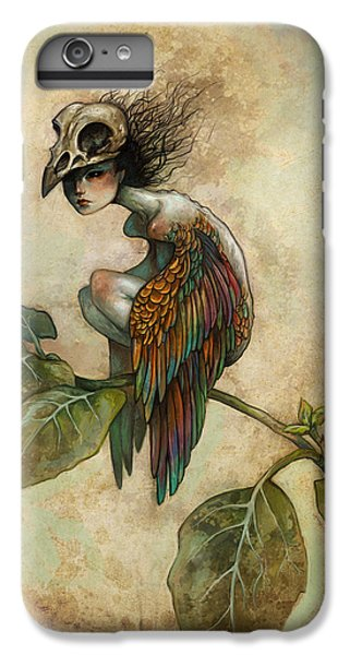Animals iPhone 6s Plus Case - Soul Of A Bird by Caroline Jamhour