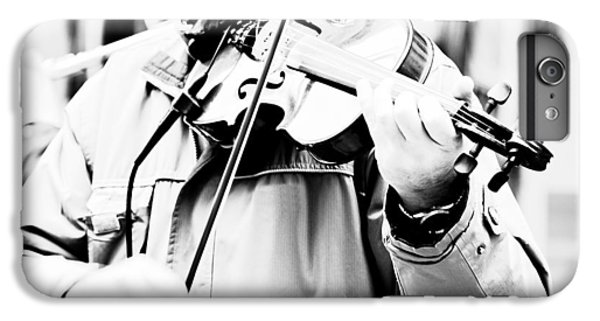 Violin iPhone 6s Plus Case - Sounds Of A Stranger by Gabriela Insuratelu