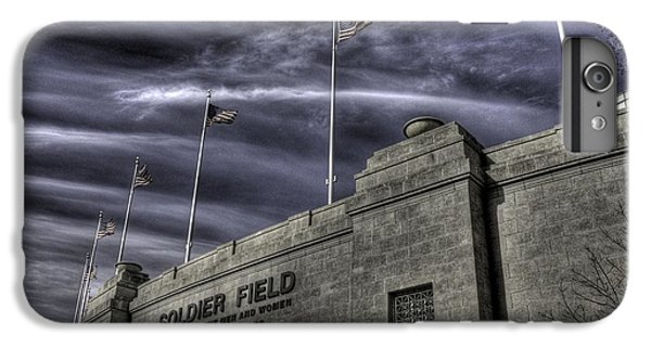 Soldier Field iPhone 6s Plus Case - South End Soldier Field by David Bearden