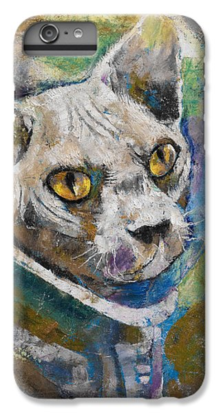 Science Fiction iPhone 6s Plus Case - Space Cat by Michael Creese