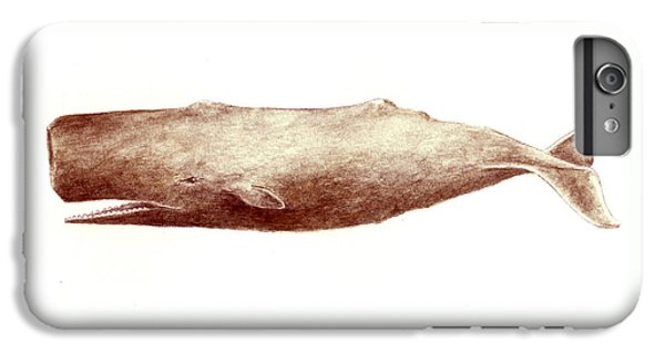 Whale iPhone 6s Plus Case - Sperm Whale by Michael Vigliotti