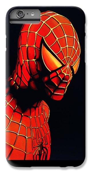 Spider iPhone 6s Plus Case - Spiderman by Paul Meijering