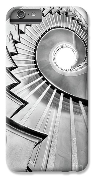 White iPhone 6s Plus Case - Spiral Staircase Lowndes Grove  by Dustin K Ryan