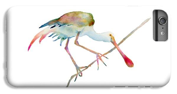Spoonbill  IPhone 6s Plus Case by Amy Kirkpatrick