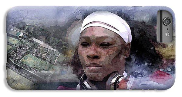 Venus Williams iPhone 6s Plus Case - Sports 219 by Jani Heinonen