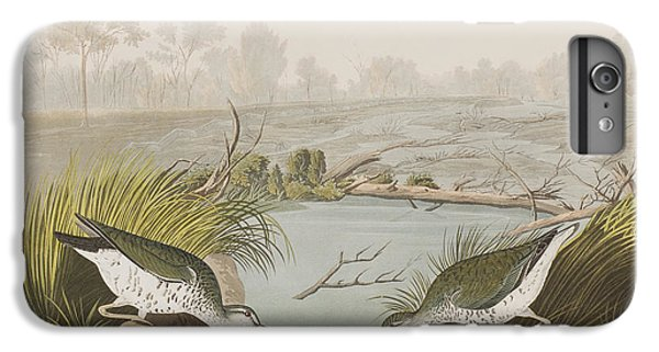 Sandpiper iPhone 6s Plus Case - Spotted Sandpiper by John James Audubon