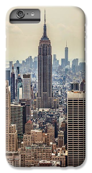 Empire State Building iPhone 6s Plus Case - Sprawling Urban Jungle by Az Jackson