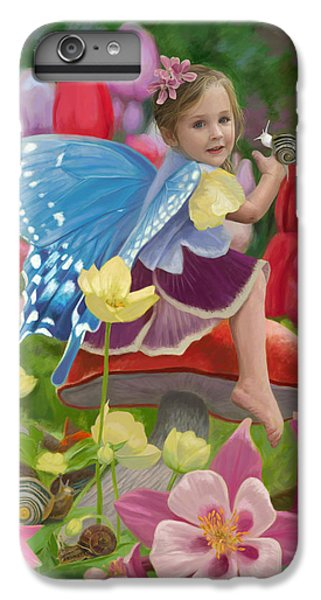 Fairy iPhone 6s Plus Case - Spring Fairy by Lucie Bilodeau