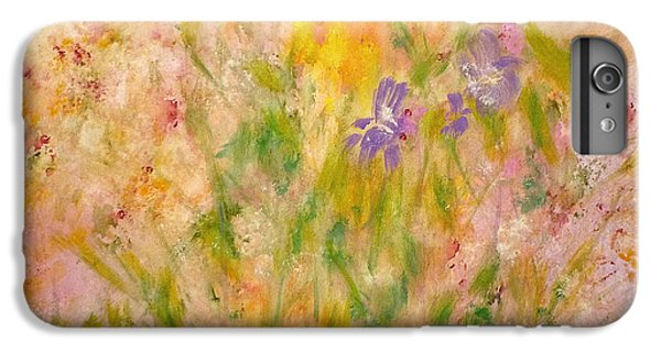 Spring Meadow IPhone 6s Plus Case by Claire Bull