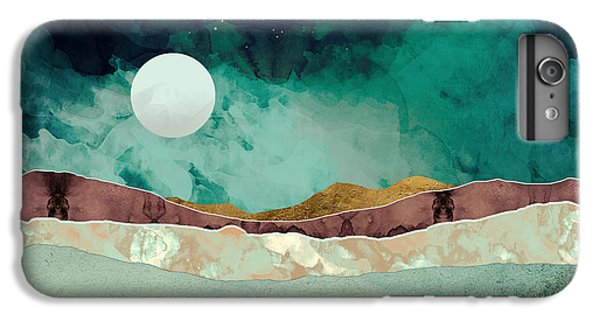 Landscapes iPhone 6s Plus Case - Spring Night by Katherine Smit