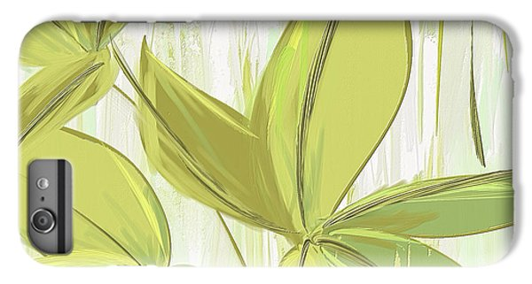 Spring Shades - Muted Green Art IPhone 6s Plus Case