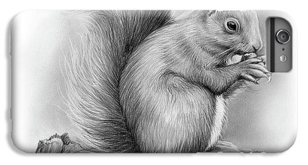 Squirrel iPhone 6s Plus Case - Squirrel by Greg Joens