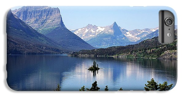 Mountain iPhone 6s Plus Case - St Mary Lake - Glacier National Park Mt by Christine Till