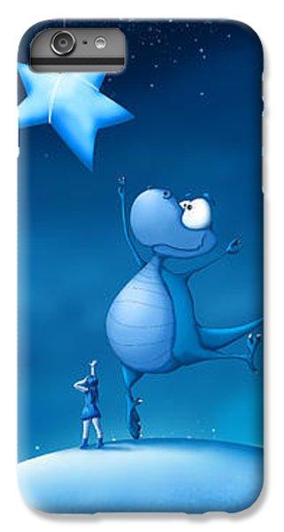 Dragon iPhone 6s Plus Case - Star Catching by Tooshtoosh