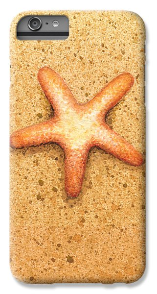 Fish iPhone 6s Plus Case - Star Fish by Katherine Young-Beck