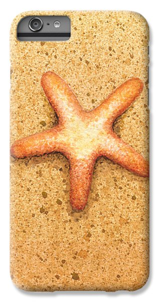 Star iPhone 6s Plus Case - Star Fish by Katherine Young-Beck